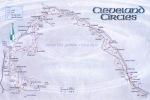 Cleveland Circles map