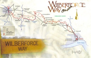 Wilberforce Way map