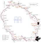 Abbeys Amble map