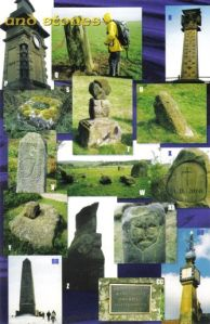 Crosses and stones (right) from the Cleveland Circles book