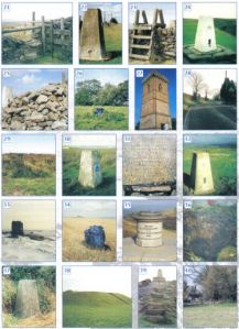 Trig points montage (right) from the ECHOES book
