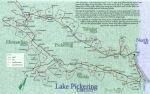 Exploring Lake Pickering map