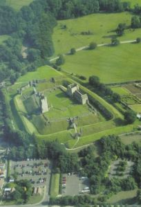 Photo of Helmsley Castle from the Exploring Lake Pickering book