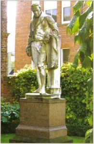 Photo of Wilberforce statue from the Wilberforce Way book