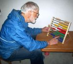 John with his Abacus