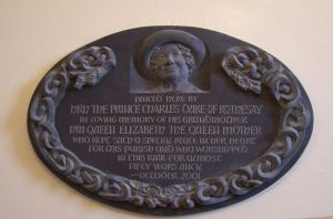 Plaque in Canisbay Church