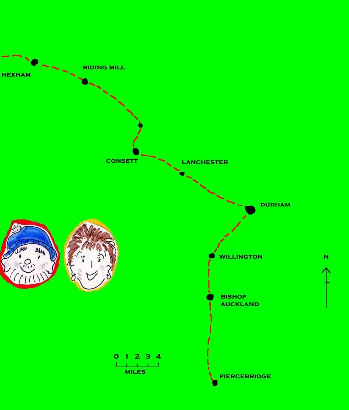 Through County Durham