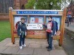 by Carlisle Cathedral (Photo taken by Alan)