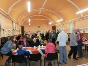Forfar Old and East parish church -party for the Queen's birthday