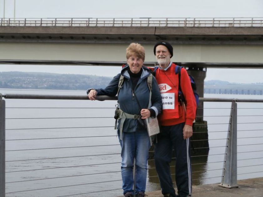 Starting by the Tay Bridge