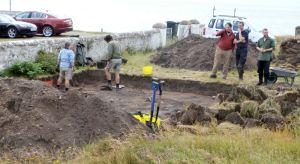 Dig at Burghead