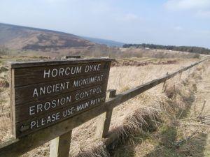 Horcum Dyke near the car park