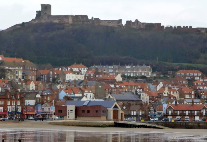 Scarborough Castle from the South Bay