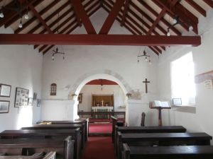Interior of Speeton Church