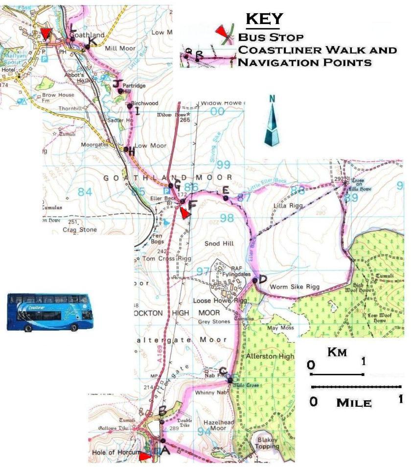 Walk 13 Hole of Horcum to Goathland